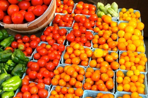 Local Market Tomatoes