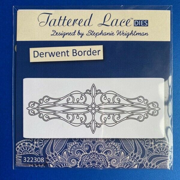 New Tattered Lace Lush Swirls Cutting Dies D1119
