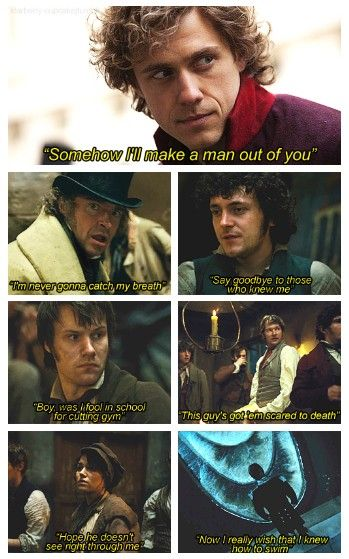 """Mulan and Les Miserables combined. """"I'll Make A Man Out Of You"""" THIS. IS. AWESOME!!!!! (GUYS!!! IN THIS SONG Enjolras is Shang and Eponine is Mulan. AKA THIS SONG IS AN ENJONINE SONG!! :D hahaha)"""