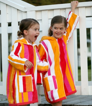 Terry Rich Australia : Bigger Kids Beach Robes in Sunset