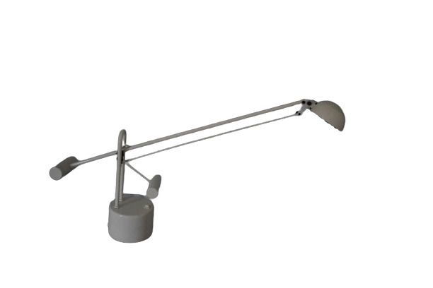 Halotech Lite Source Adjustable Metal Desk Lamp Cream Colored 29 Long Arm Ebay In 2021 Metal Desk Lamps Metal Desks Desk Lamp