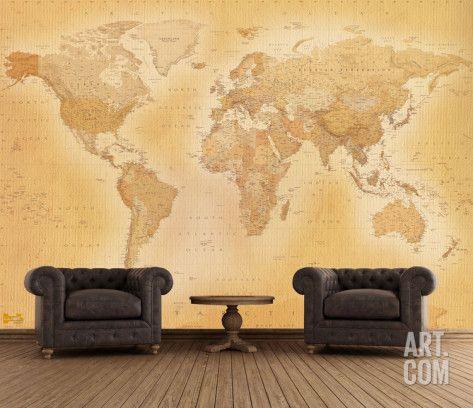 1000 id es sur le th me carte murale du monde sur for Ancienne collection maison du monde