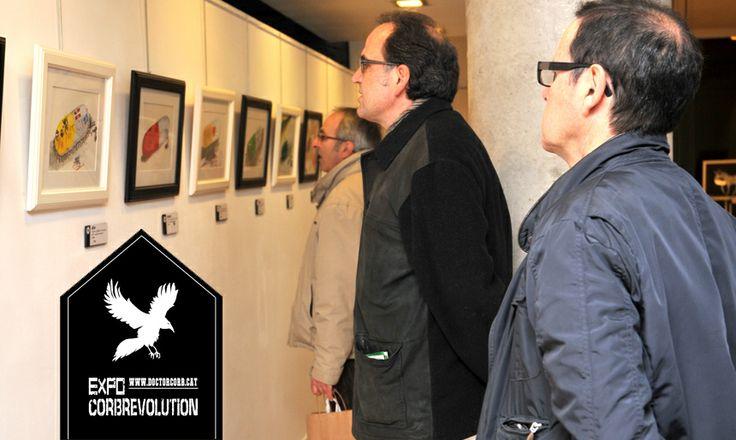 Exposició de l'Obra del Doctor Corb. Aquí la col·lecció pastilles XXI.  --------------------------------------------- The artwork's expo by Doctor Corb.