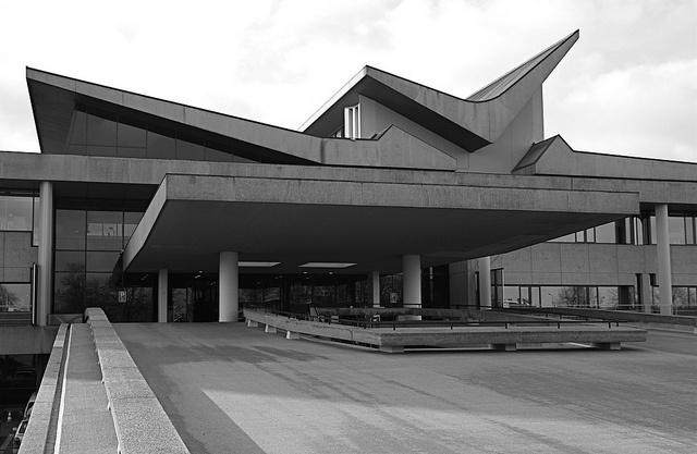 architect Maaskant, provinciehuis Den Bosch