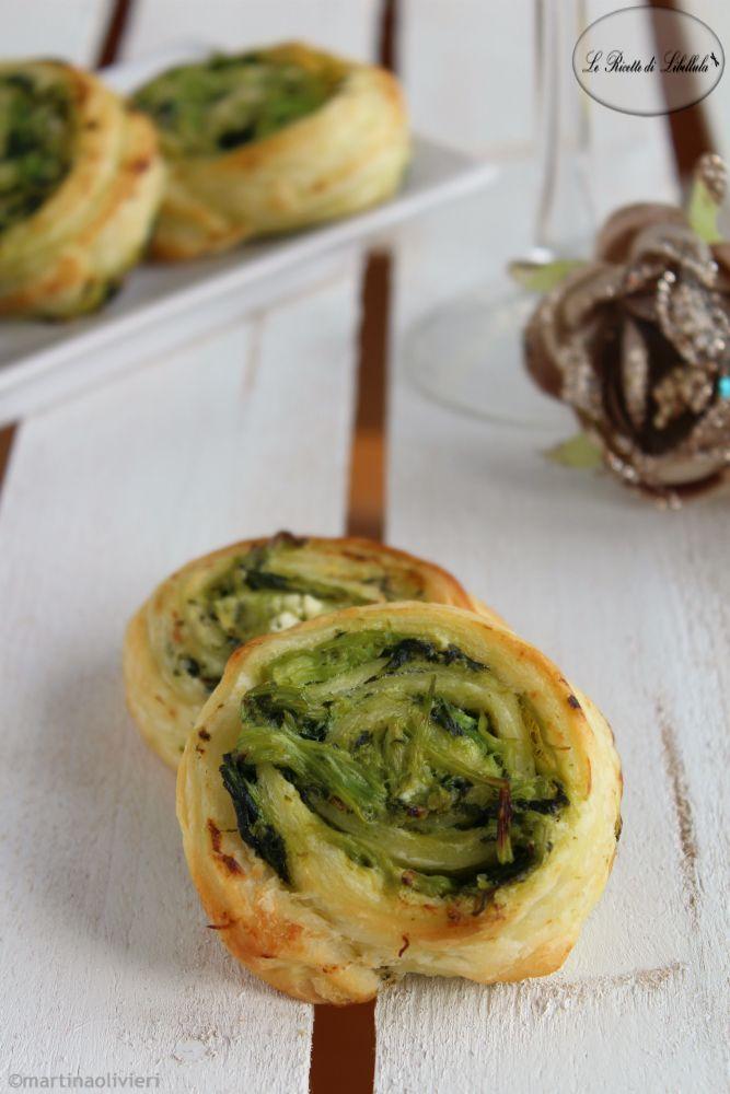 Rotolini di sfoglia con cime di rapa #ricetta #foodporn #gialloblogs @spreadphilly