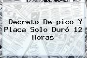 http://tecnoautos.com/wp-content/uploads/imagenes/tendencias/thumbs/decreto-de-pico-y-placa-solo-duro-12-horas.jpg Pico Y Placa Cartagena. Decreto de pico y placa solo duró 12 horas, Enlaces, Imágenes, Videos y Tweets - http://tecnoautos.com/actualidad/pico-y-placa-cartagena-decreto-de-pico-y-placa-solo-duro-12-horas/