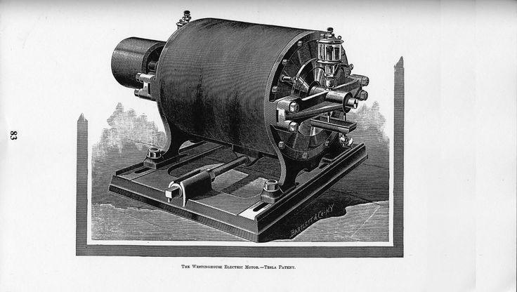 Tesla:  The Westinghouse electric motor---#Tesla patent.