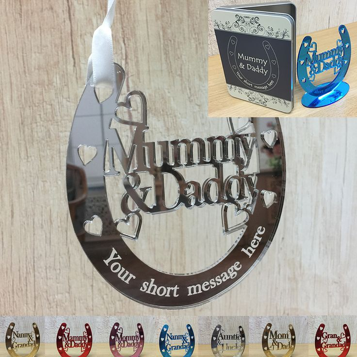 Check out the deal on Personalised Wedding or Anniversary Gift Good Luck Bridal Horseshoe - VARIOUS RELATIONS at Little Shop of Wishes