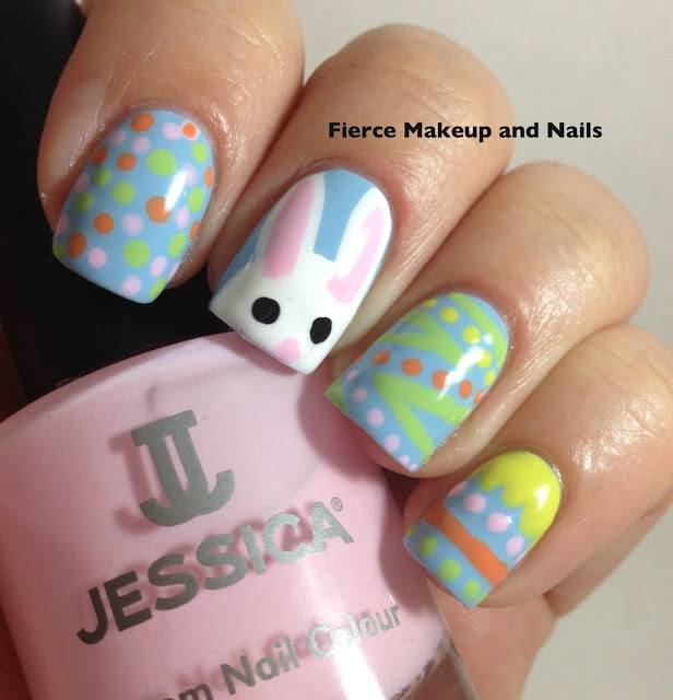 Easter Bunny Nails: 34 Best Images About Easter/Spring Nails On Pinterest