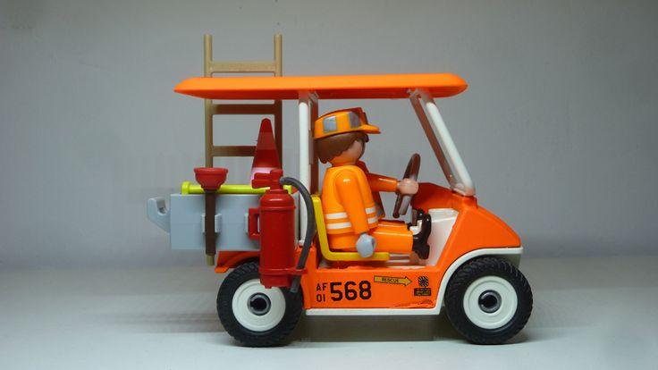 Une voiturette électrique pour la piste :