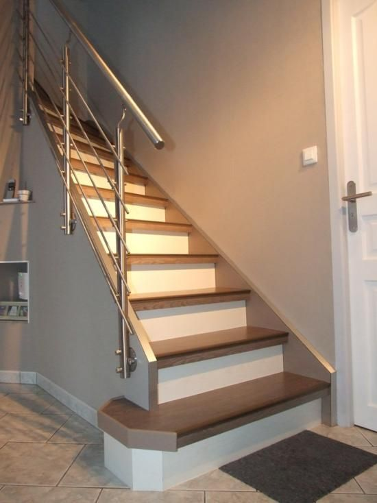 Les 45 meilleures images du tableau escalier sur pinterest escaliers escalier r novation et - Renovation escalier par recouvrement ...