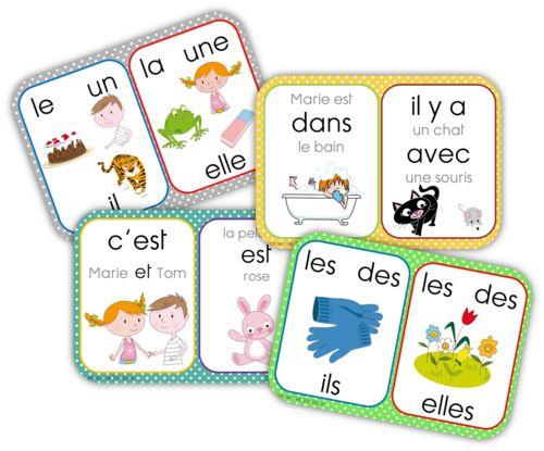 Affichage mots outils CP