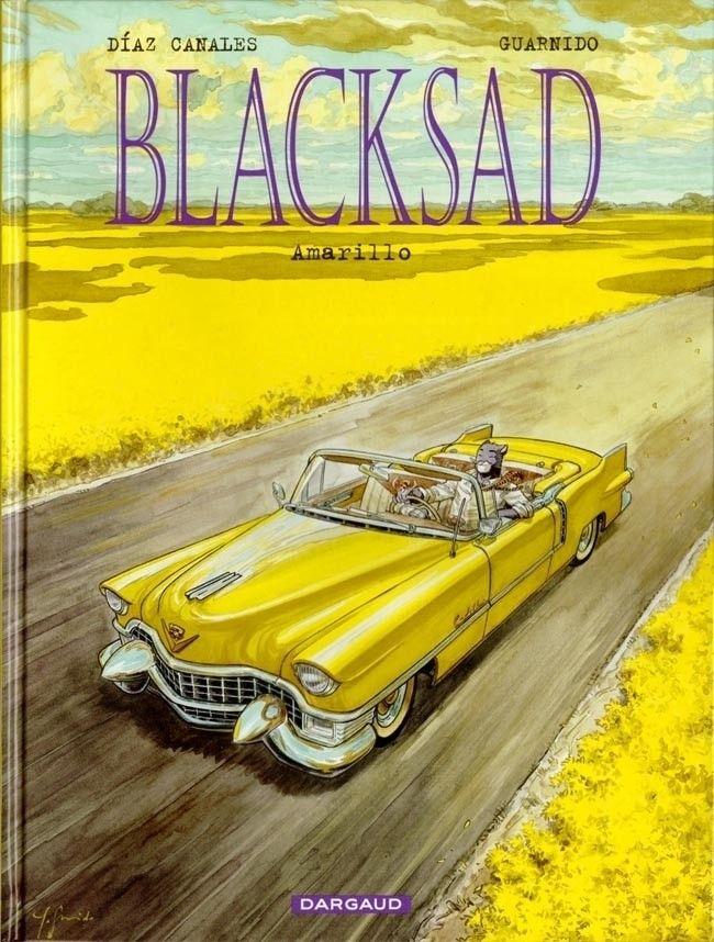 Couverture de Blacksad -5- Amarillo