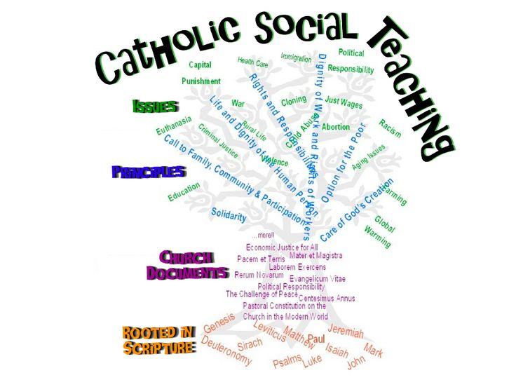 Catholic Social Teachings Tree