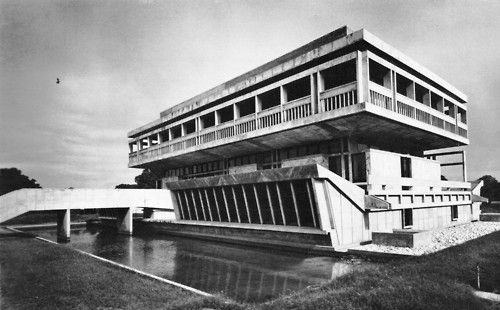 Institute of Indology  Ahmedabad, India, 1962  Balkrishna Doshi