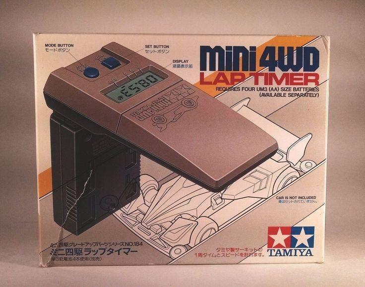 Tamiya Mini 4WD Lap Timer W/Box Rare Made In Japan #Tamiya