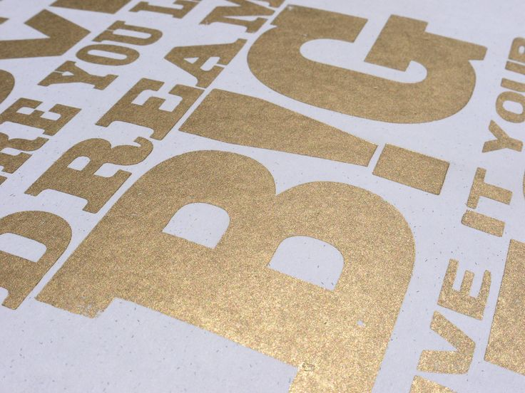print for love of wood letterpress: follow the golden rules