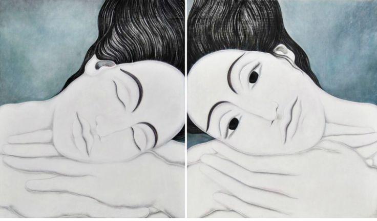 .Oil-on-canvas, 2012, 205x170 cm
