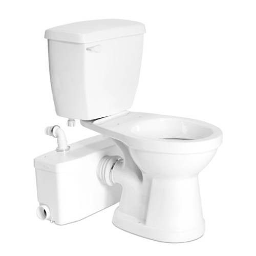 Sanflo SaniPLUS Basement Toilet. Upflush ...