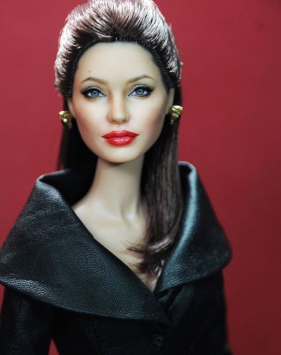 Angleina Jolie by Noel Cruz