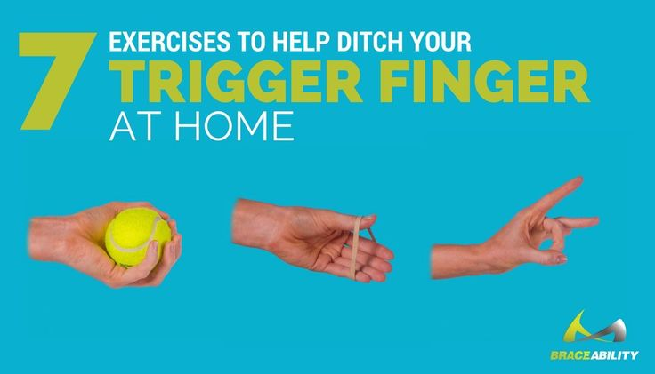 Exercises To Help Ditch Trigger Finger At Home