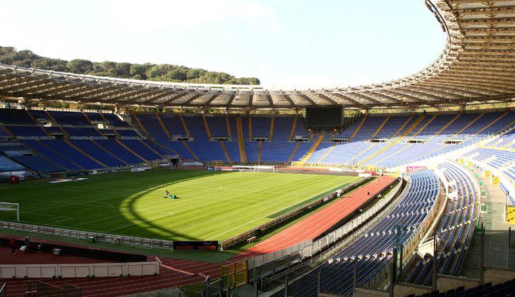 AS Roma Stadium.