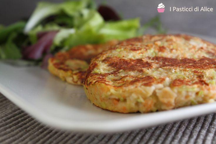 Hamburger Vegetariano di Fagioli http://blog.giallozafferano.it/pasticcidialice/hamburger-vegetariano-fagioli/