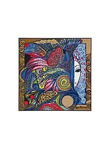 tapis moderne et coloré