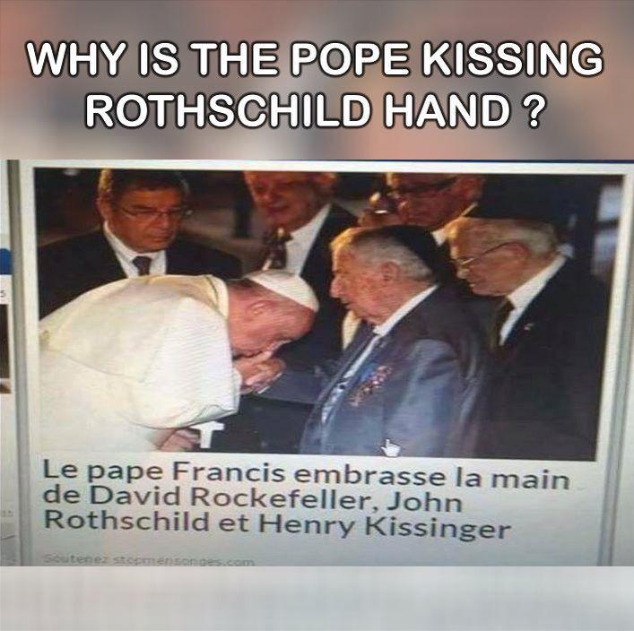 NWO. Idolatry. Pope false teacher. Catholic false Christianity. Whore of Babylon.