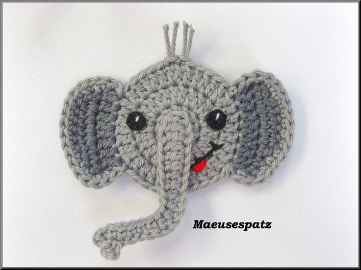 Best 25 Crochet Elephant Pattern Ideas On Pinterest