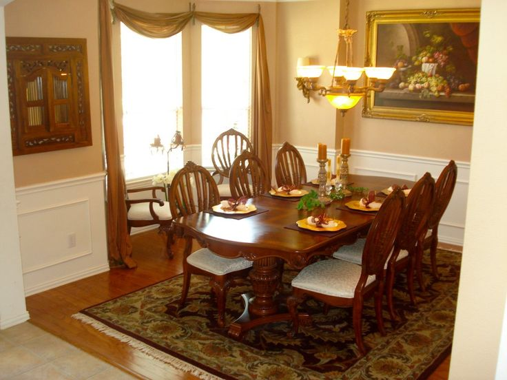 Pictures Of Dining Tables Decorated | ... Decorate A Formal Dining Room 81  How