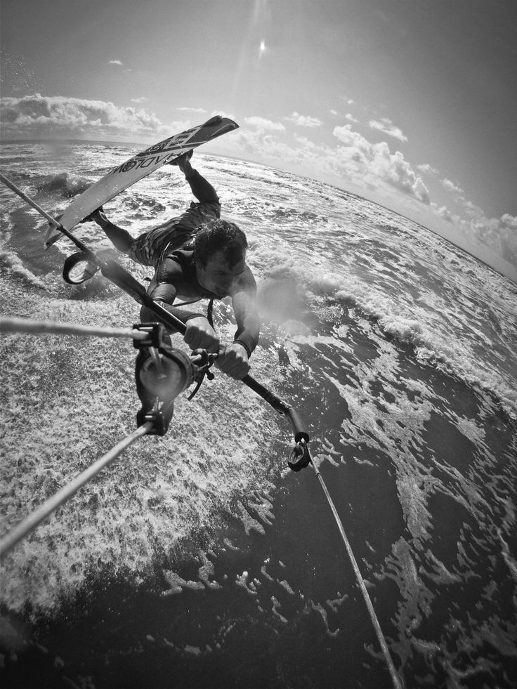 it's all about kitesurfing