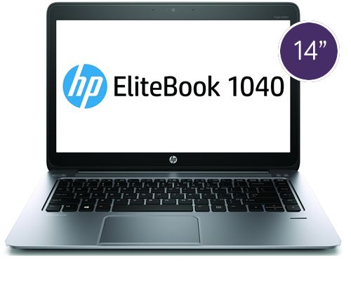 HP EliteBook Folio 1040 – 14″, 2.2GHz Processor, 250GB Storage