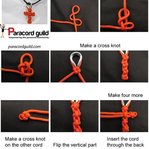 How to make a paracord cross - Paracord guild | macrame ...