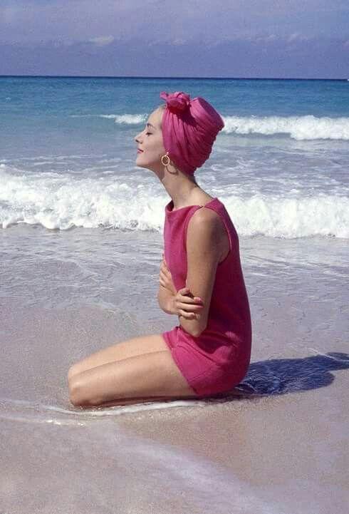 Vintage on the beach ~