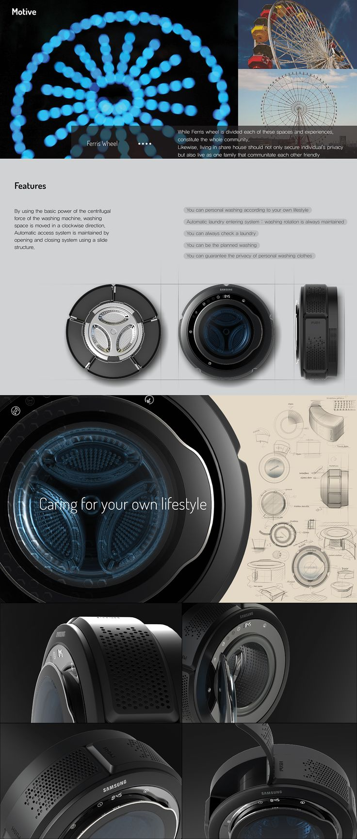 quinque : 5 Private washing machine- Samsung Electronics Washer
