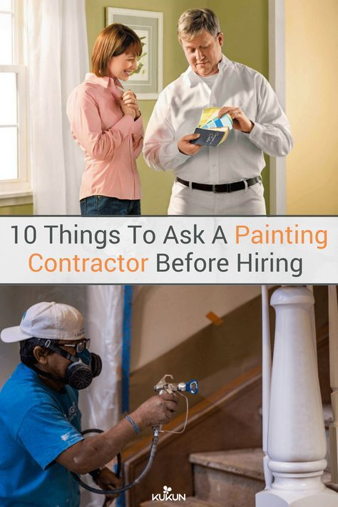 Top 10 Questions to Ask a Painting Contractor Before You Hire | Home