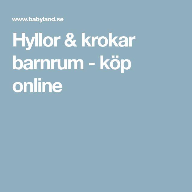 Hyllor & krokar barnrum - köp online