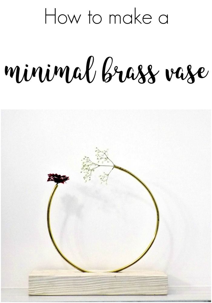 how-to-make-a-minimal-brass-vase