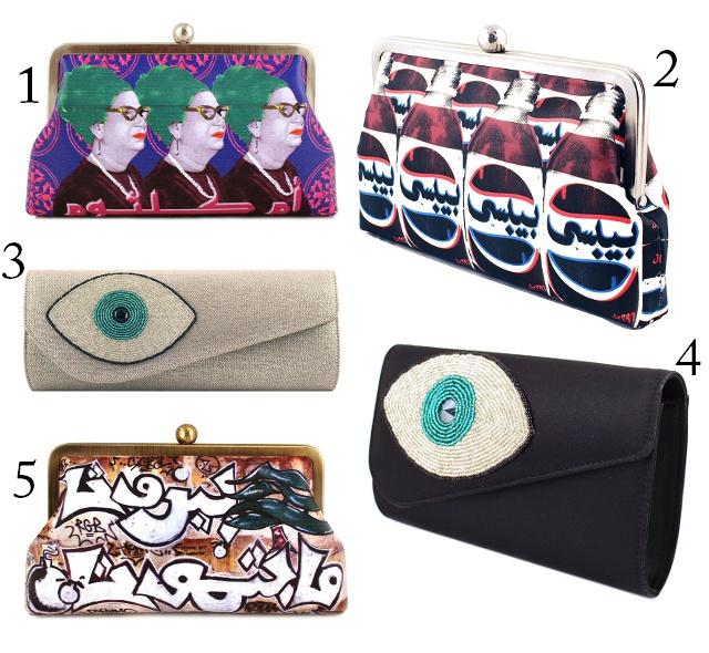 Urban Bedou Girl: Sarah's Bag: Arab Pop Culture in Modern Fashion