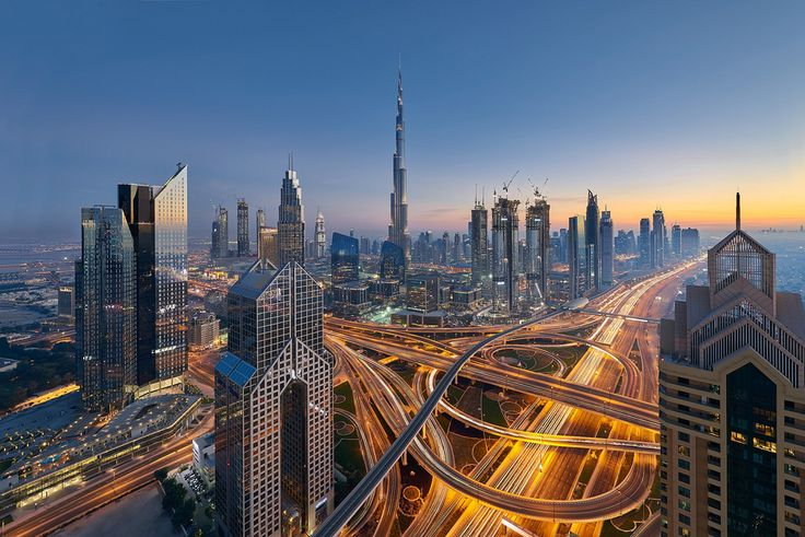 Dubai is one of the most glamorous cities of the world.