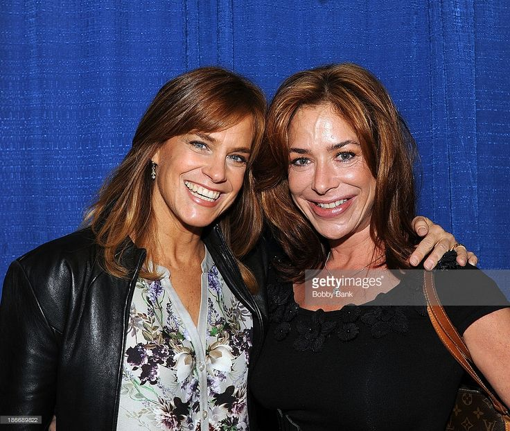 Catherine Mary Stewart and Claudia Wells (R) attends the 2013 Rhode Island Comic Con at Rhode Island Convention Center on November 2, 2013 in Providence, Rhode Island.