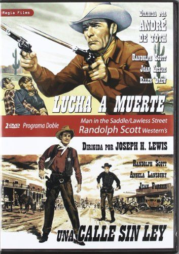 Randolph Scott Double-bill: Man In The Saddle (1951) / A Lawless Street (1955) - Region Free Pal Double-dvd Plays In English Without Subtitles