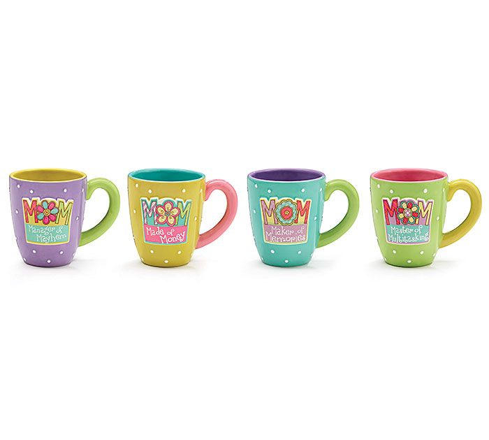 Bring MOM a big cup of coffee on Mother's Day to start her day off right! #burtonandburton #mothersday #mug