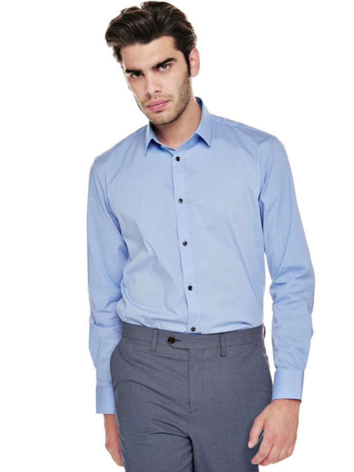 EUR99.00$  Buy here - http://vicmh.justgood.pw/vig/item.php?t=a0mrfi4409 - MARCIANO COTTON SHIRT EUR99.00$