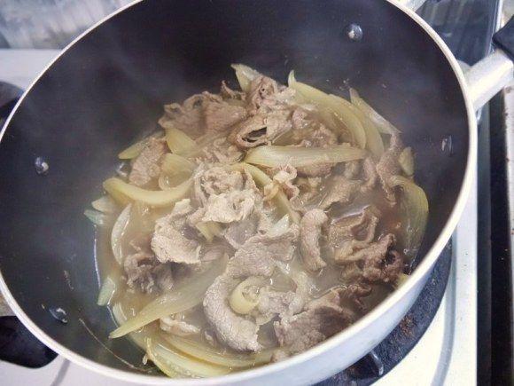 Make your own Yoshinoya beef bowl at home6