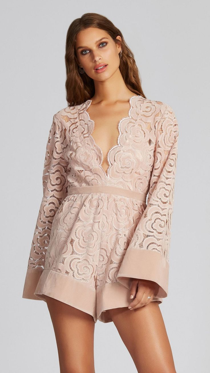 Alice McCALL - My One & Only Playsuit - Blush