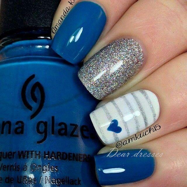 ♥cute nails #nails #beauty
