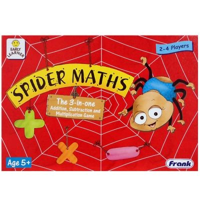 Spider Maths Game: Click to Zoom