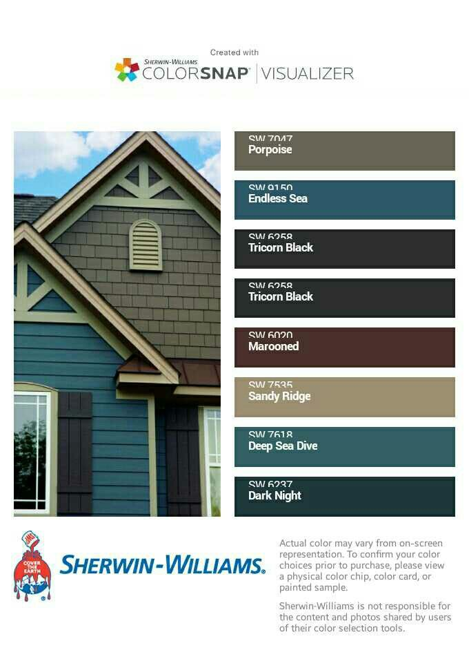 17 best ideas about sherwin williams color palette on pinterest grey color schemes interior - Best exterior paint colors sherwin williams concept ...